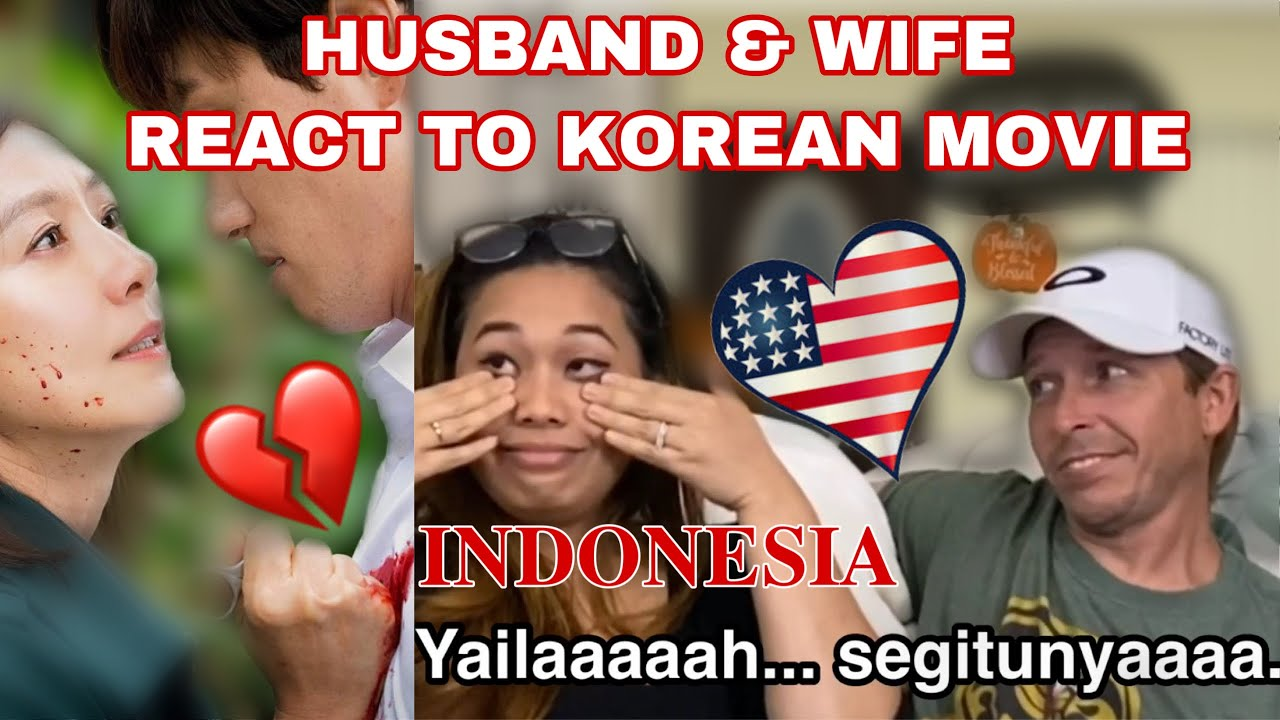 REAKSI SUAMI BULE NONTON DRAKOR THE WORLD OF THE MARRIED/HUSBAND REACTS TO KOREAN MOVIE