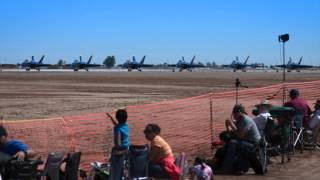 2014 El Centro NAF Air Show with the BLUE ANGELS