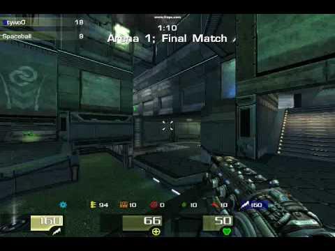 Quake 2 lightning gun