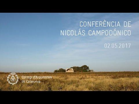 Conferència de Nicolás Campodónico al COAC (02.05.2017)