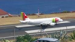 Funchal lentokenttä:  epäonnistunut lasku ja ylösveto!