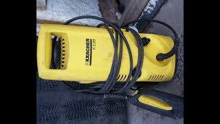 Ремонт KARCHER 2. 99 Пропало тиск води.
