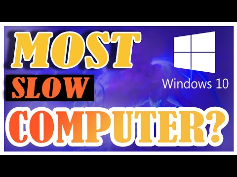 How to Speed Up Your Windows 10 Performance! (New & updated) - Computer running slow (Windows 10)