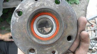 видео Замена переднего, заднего подшипника ступицы ВАЗ 2110