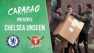 CHELSEA UNSEEN: Funny Diego Costa mischief, Terry stunning goal & a whole lot of skills