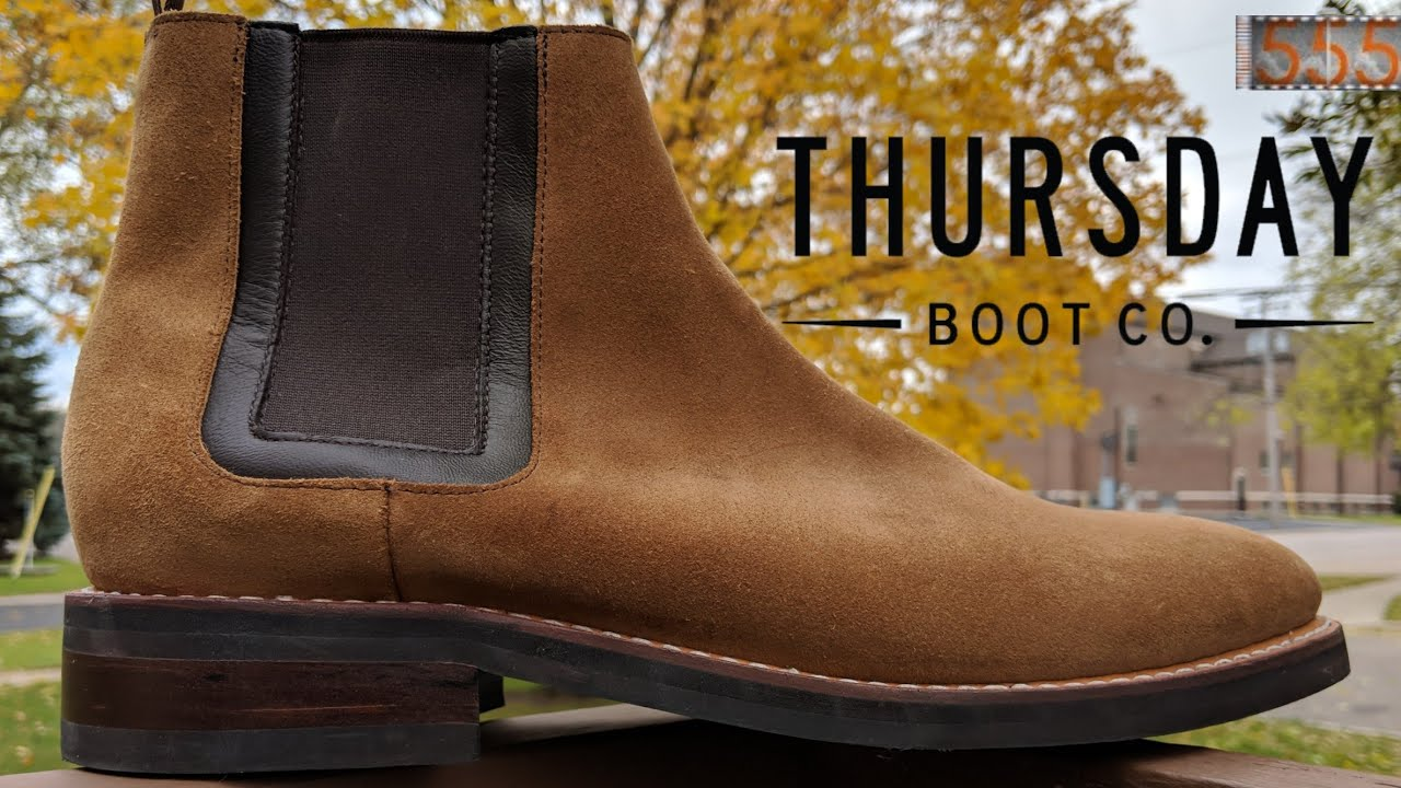 1aeb18db4d Thursday Boot Co Duke Suede Chelsea Boots: Perfect for Fall? Initial Review  by 555 Gear