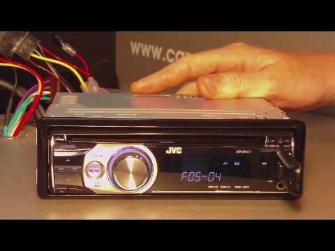 Обзор автомагнитолы JVC KD-