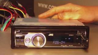 Обзор автомагнитолы JVC KD-R517