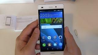 Huawei P8 Lite einrichten und erster Eindruck