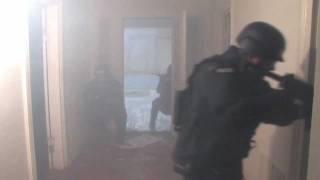 Police Flash Bang Explosive Demonstration