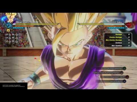Super Op father son kamehameha glitch (Dragon Ball Xenoverse 2)
