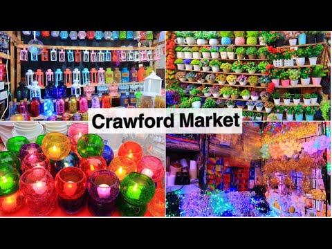 Crawford Market - Mumbai's Biggest Wholesale Market | Diwali Shopping at Crawford Market