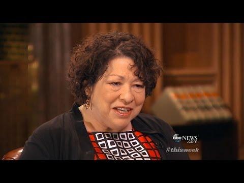 'This Week': Justice Sonia Sotomayor