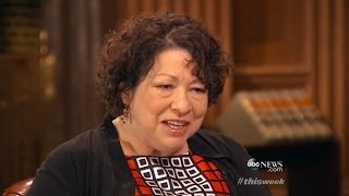 'This Week': Justice Sonia Sotomayor