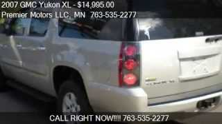 2007 GMC Yukon XL SLT 1500 SUV 4WD for sale in Crystal Mn