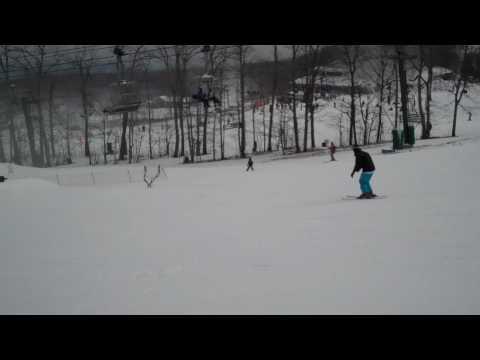 Michael Dong Skiing