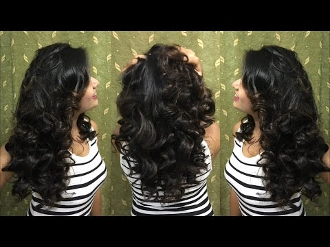 Easy NO HEAT curls   2 Heatless Curling Methods   Overnight   Life in Style with Mona