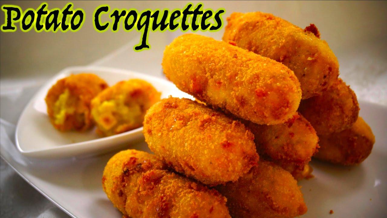 Potato Croquettes | Easy & Tasty - YouTube