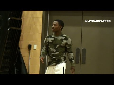 Aquille Carr's Cousin Has GAME!! Darnell Rogers 1-on-1 with DJ Sadler