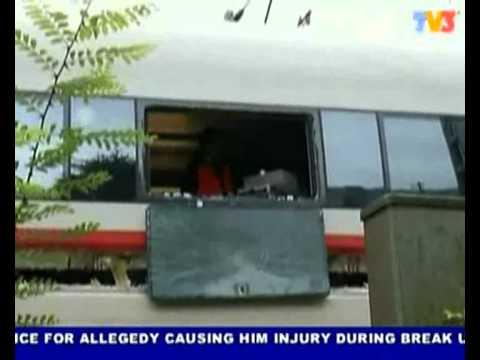 10 people injured, high-speed train collision in Germany (Nightline 18/8/2010)