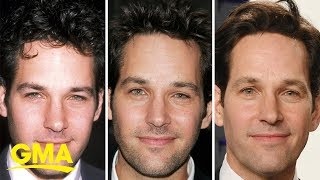 Is paul rudd a vampire? you be the judge. https://gma.abc/2g16rxj