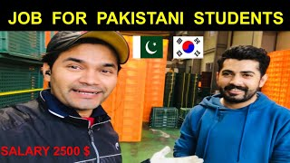 Jobs for pakistani students in South Korea | salary 2500 dollars ! |