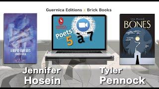 Poets' 5 à 7 (Episode 4): Jennifer Hosein + Tyler Pennock