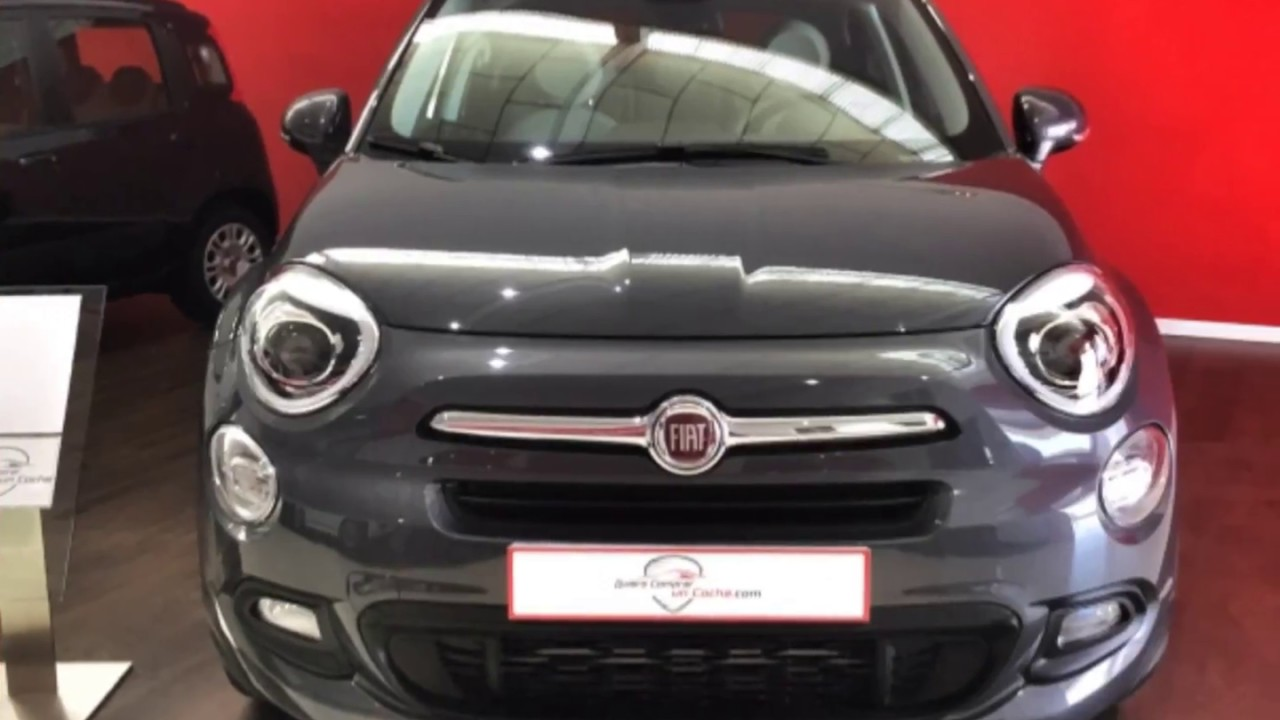 entrega fiat 500x 1 6 mjet 120cv lounge gris moda 4x2 quiero comprar un coche madrid youtube. Black Bedroom Furniture Sets. Home Design Ideas