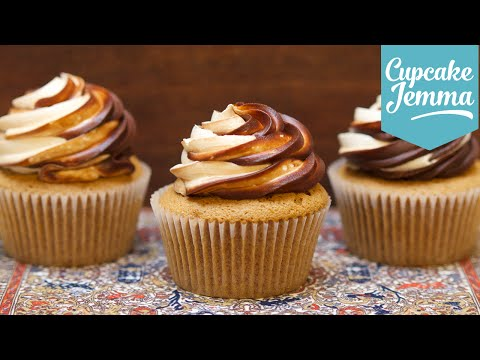 Generate How to Make White Russian Big Lebowski Inspired Cupcakes | Cupcake Jemma Images