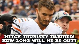 Mitch Trubisky Dislocates His Shoulder! How Long Will He Be Out For? Are The Bears Doomed?