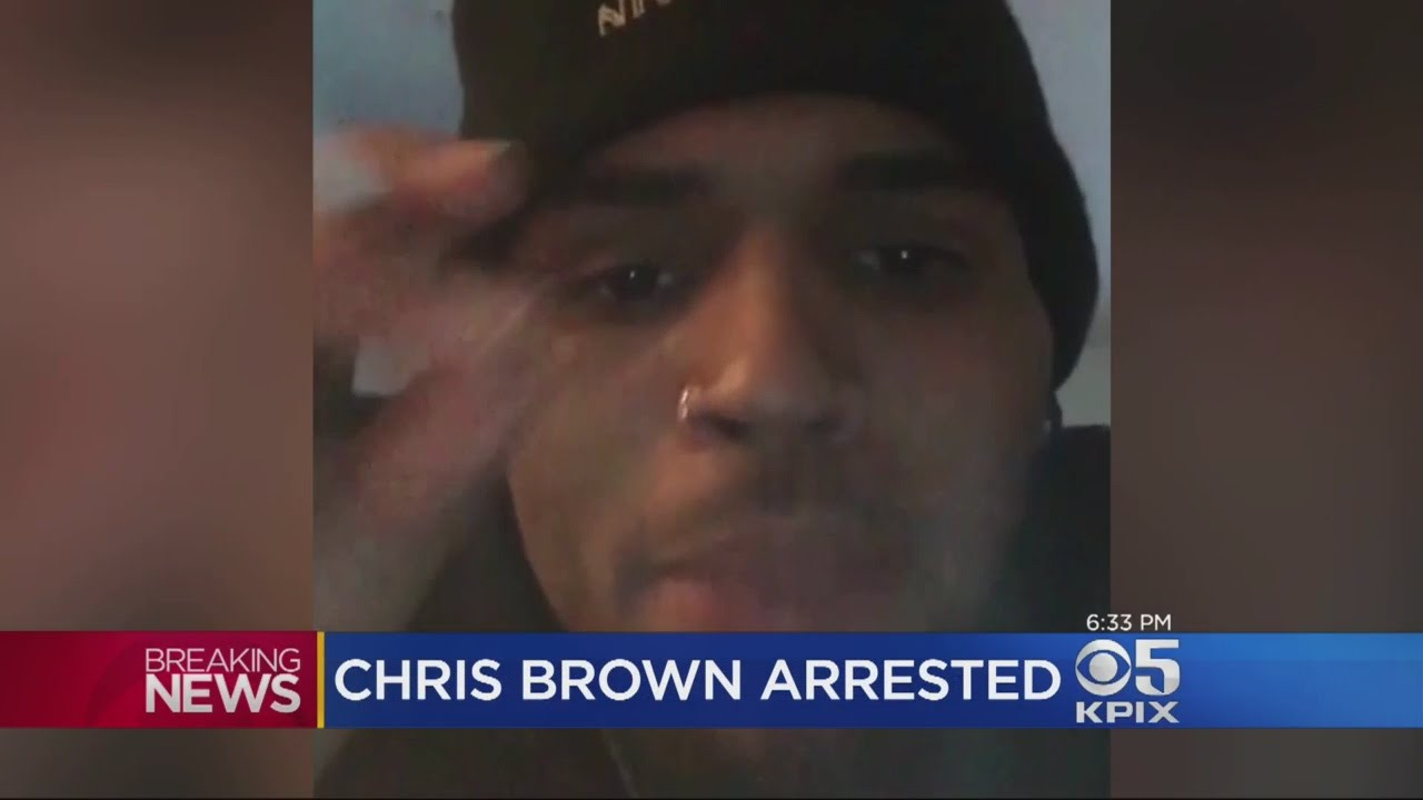 Chris Brown Arrested On Assault Charge In SoCal