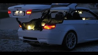 BMW M3 E93 Convertible - 1:18 Kyosho - LED Lighting Tuning - True to original