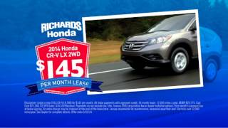 Memorial Day Savings at Richards Honda-2014 CR-V