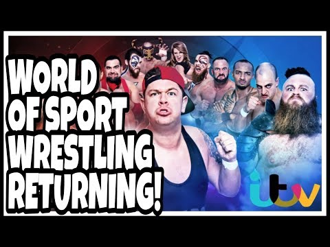 Breaking News | WWE RIVAL WORLD OF SPORT WRESTLING RETURNING TO UK TV SCREENS FOR NEW 10 PART SERIES