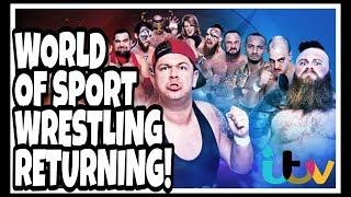 Breaking News | WWE RIVAL WORLD OF SPORT WRESTLING RETURNING TO UK TV SCREENS FOR NEW 10 PART SERIES