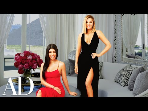 Inside Khloé and Kourtney Kardashian's Dream Houses | Celebrity Homes | Architectural Digest