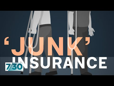 Workers left high and dry by junk insurance policies | 7.30