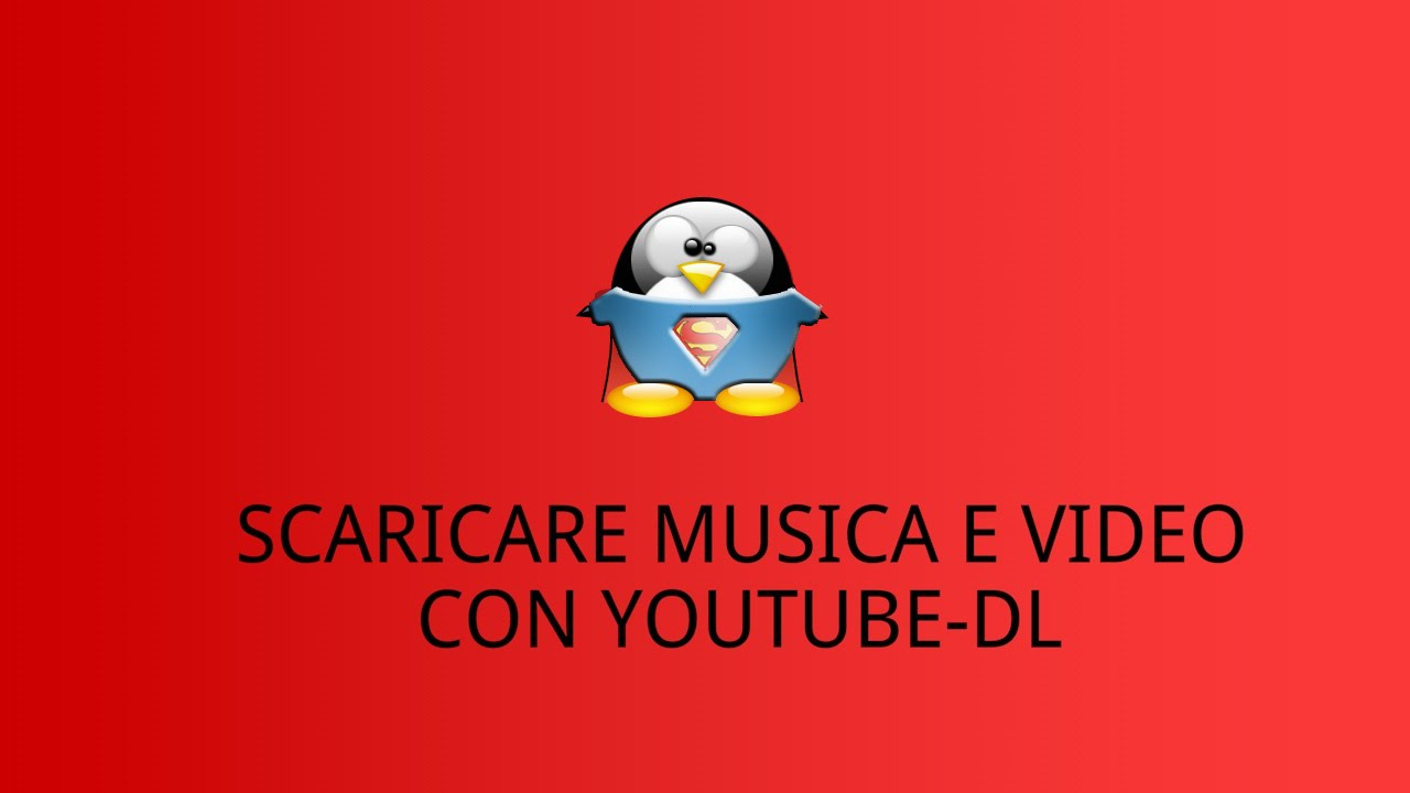 scaricare musica da youtube su linux