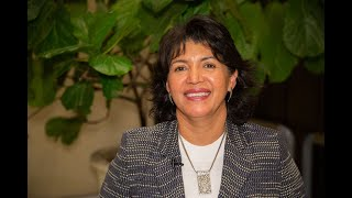 Senadora Yasna Provoste analiza el Plan de Descarbonización de la matriz energética chilena