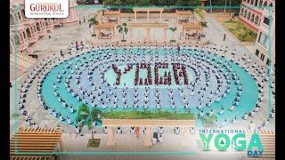 International Yoga Day 2019-20  Swaminarayan Gurukul International School