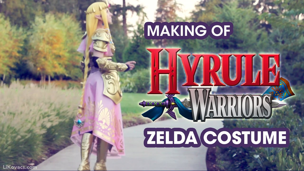 Costume Showcase Making Of Hyrule Warriors Zelda Costume