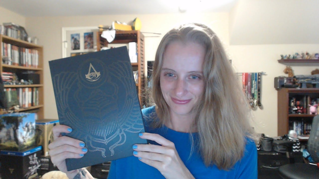 Unboxing The Assassins Creed Origins Collectors Edition Strategy Guide
