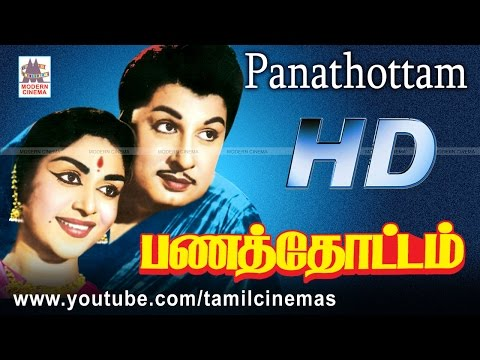 Panathottam Movie எம்ஜிஆர் சரோஜாதேவி நடித்த பேசுவது கிளியா போன்ற பாடல்கள் நிறைந்த படம்