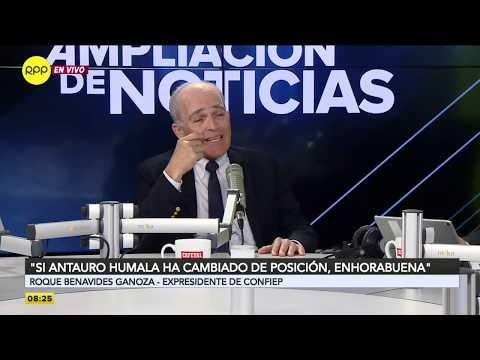 """Roque Benavides: """"No voy a asistir a una reunión con Antauro Humala en la cárcel"""""""