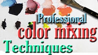 Basic Oil Painting Mixing Techniques