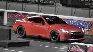 World's Fastest AMS Alpha 9 GTR? AWD Motorsports - 1/4 mile Drag Race - Road Test TV ®