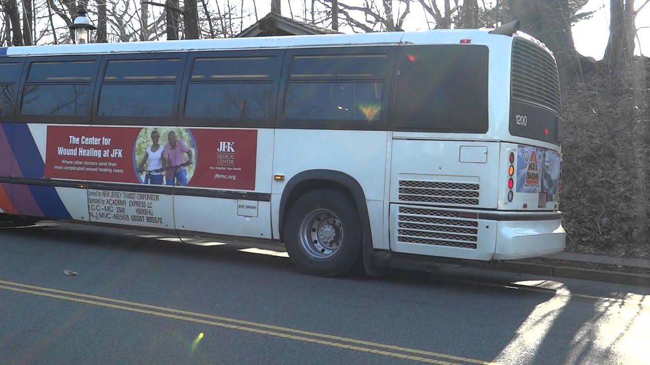 Nj Transit Academy Bus Novabus Rts 06 1200 On The 810