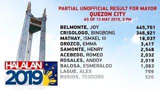 Canvassing ng boto sa Quezon City, nagsimula na | Halalan 2019