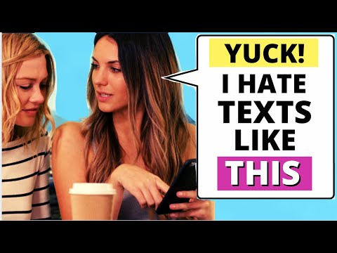13 texts you should NEVER send a girl (Why These TOTALLY Turn Her OFF)   How To Text Girls