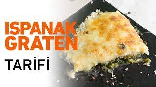 Ispanak Graten Tarifi   Ispanak Graten Nasıl Yapılır?